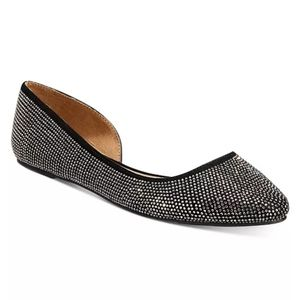 Wild Pair Mabel D'Orsay Flats -5.5